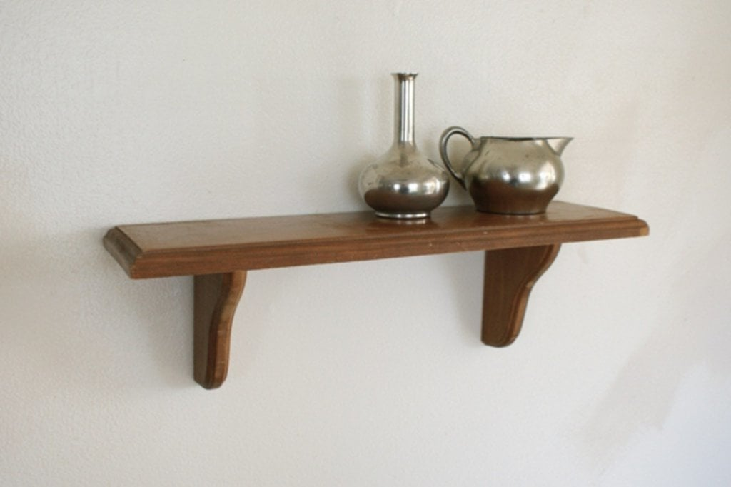 Wood Wall Shelf Small Display Shelving Wooden Wall Hanging Wooden Shelf Brackets Ideas