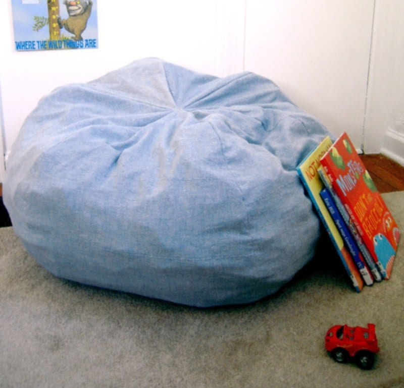Giant Bean Bag Chair Home Design 2018 Making Giant Bean Bag
