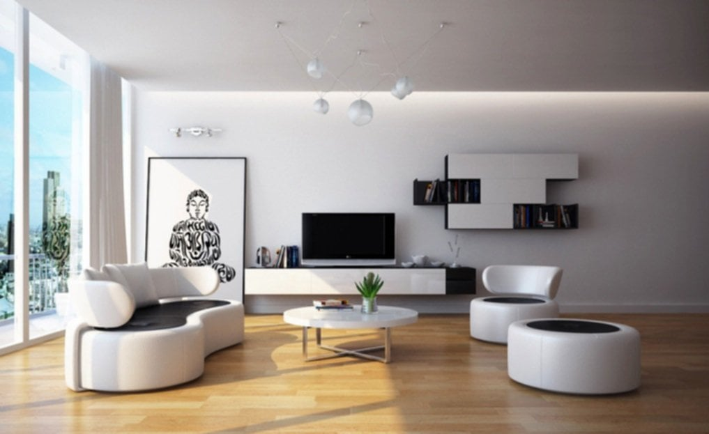 Living Room Trendy Home Furniture