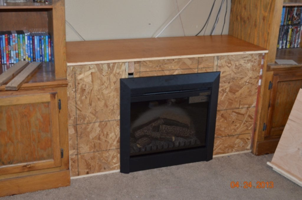 Ana White Entertainment Center Fireplace Diy Project Fireplace TV Stand