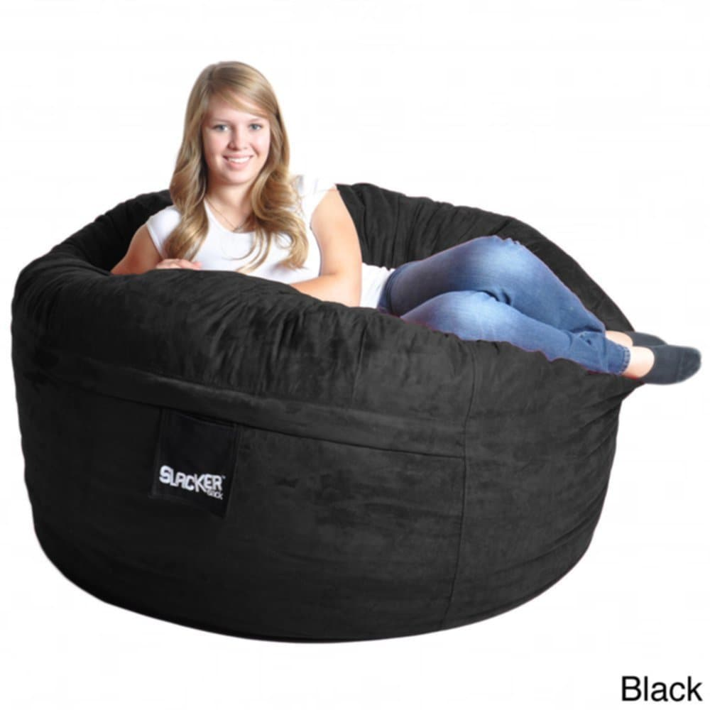 Black Memory Foam Bean Bag