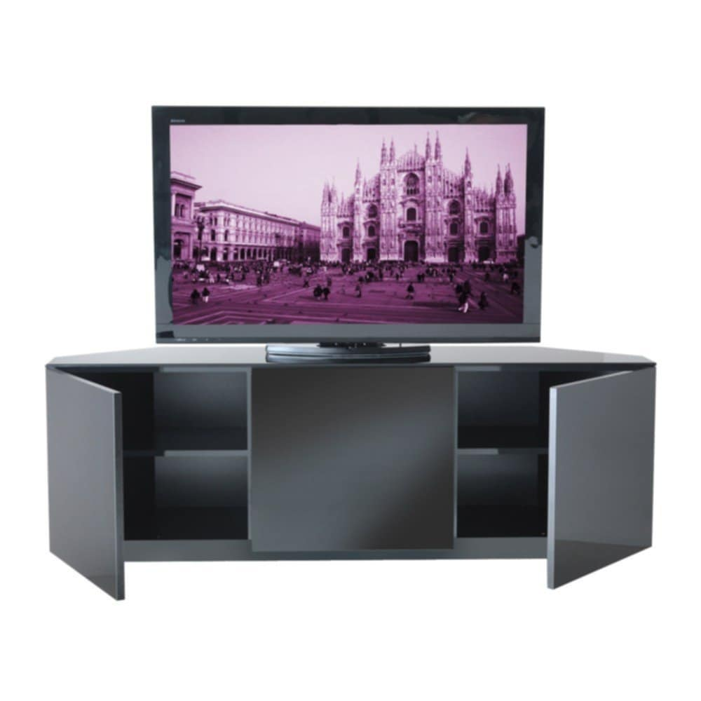 Black Red Tv Stand Home Design Idea Fireplace TV Stand