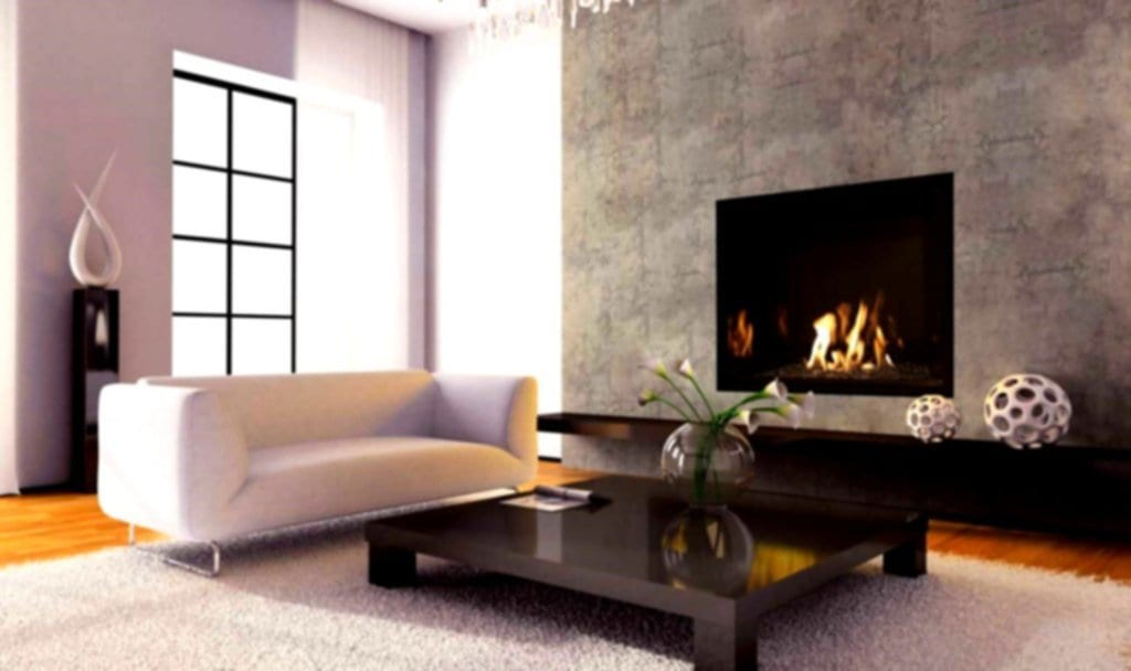 Contemporary Living Room Design Corner Fireplace Fireplace TV Stand