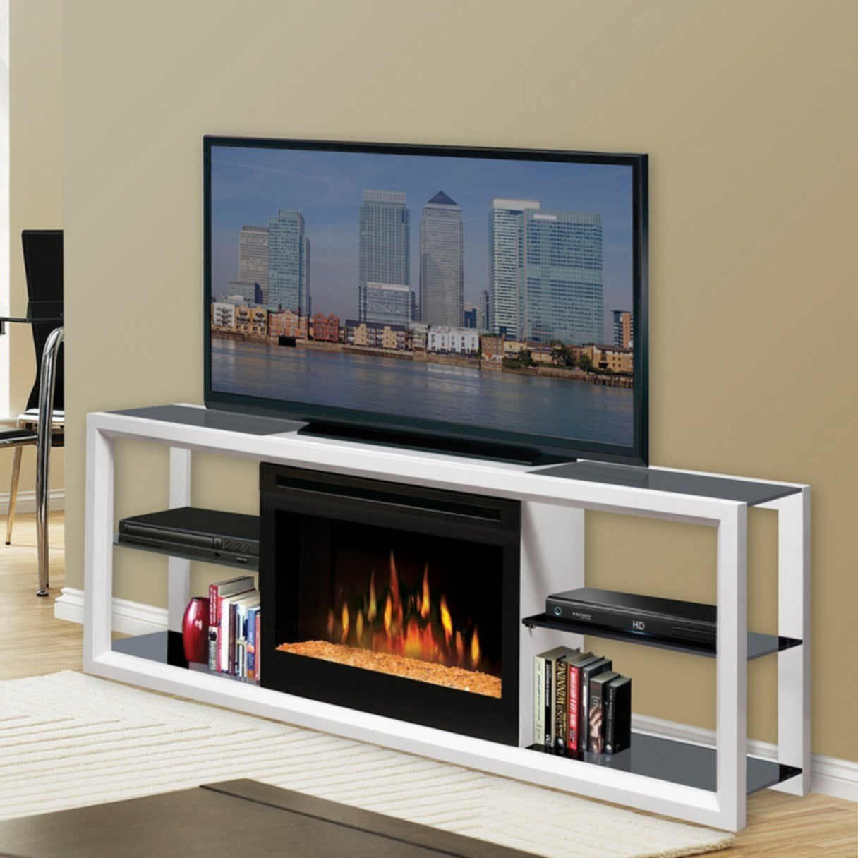 Discount Fireplace Tv Stand