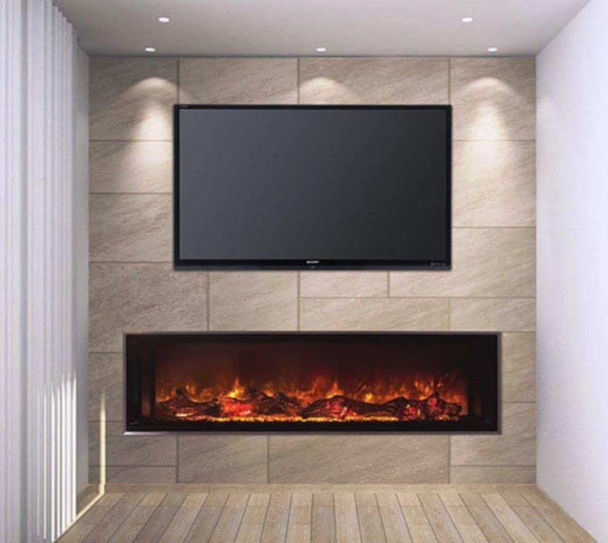 Fireplace Insert Comfortable Room Fire Place Fireplace TV Stand