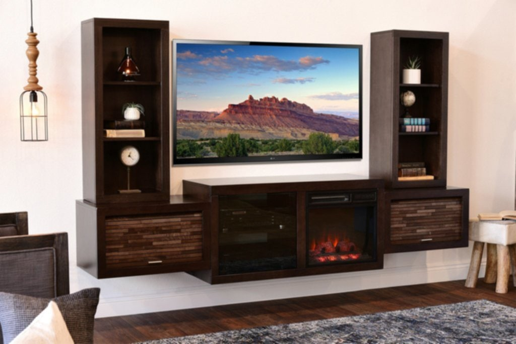 Fireplace Tv Stand Home Depot Enchanting Wall Fireplace TV Stand