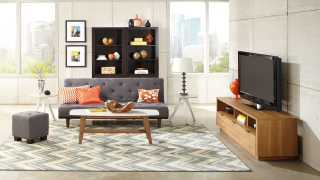 Furniture Rug Engaging Sauder Tv Stand Home Fireplace TV Stand