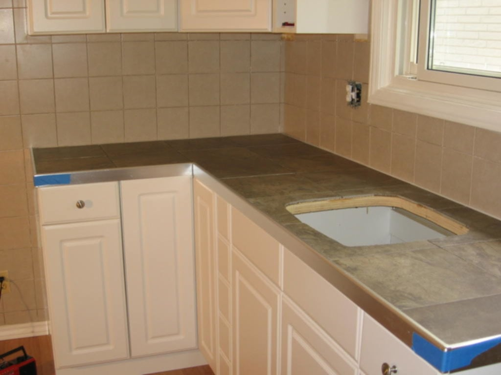Image Painting Tile Countertops