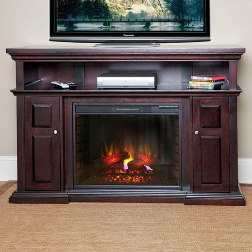 Item Longer Fireplace TV Stand