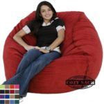 Large Bean Bag Chair Factory Direct Cozy Sack 4 39 Cozy Foam Making A Giant Huge Bean Bag
