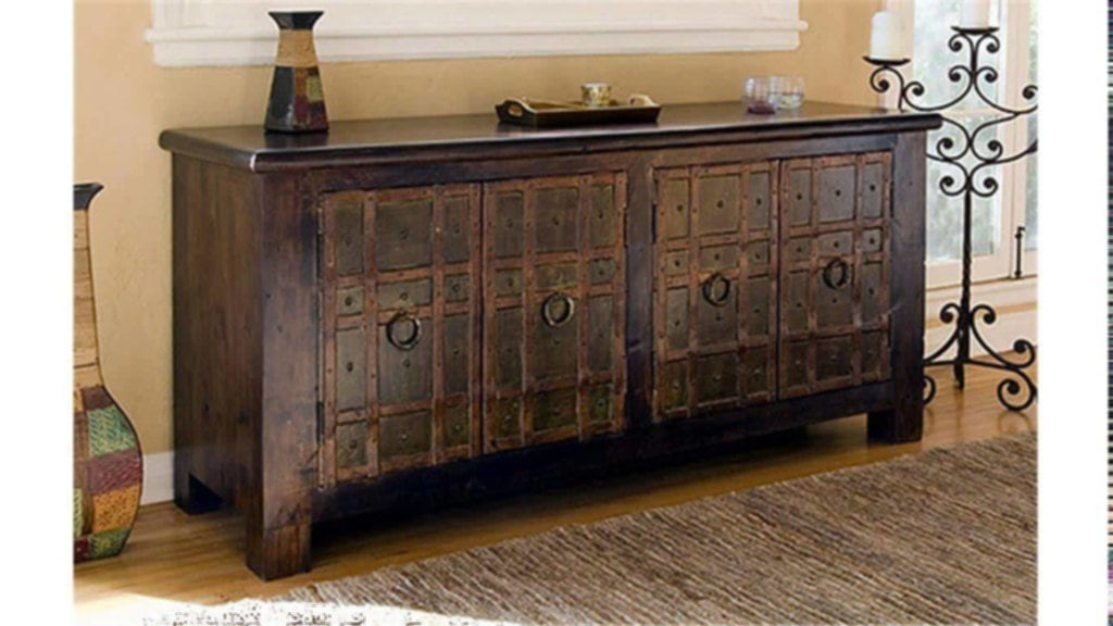 Rustic TV Stand Info