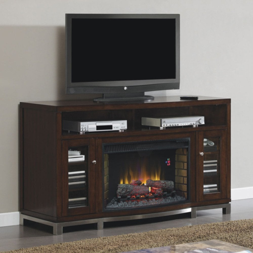 Setting Electric Fireplace Medium Console Home Design Insight Fireplace TV Stand