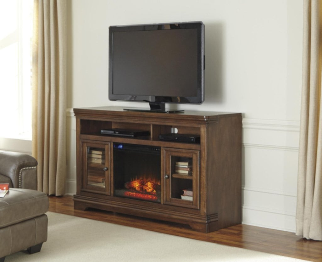 Tv Stand Electric Fireplace Costco Doherty House Fireplace TV Stand