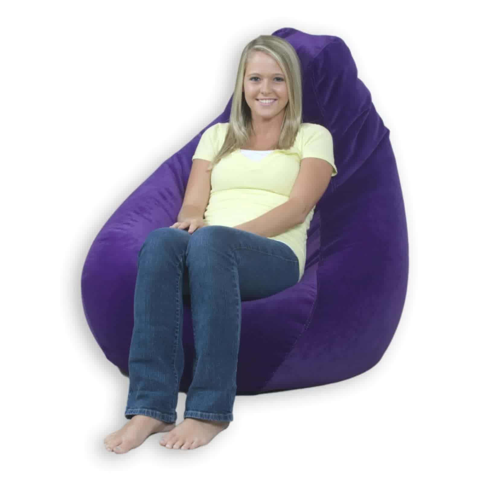 Vinyl Bean Bag Chairs For Adult