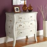 White Bombay Chest