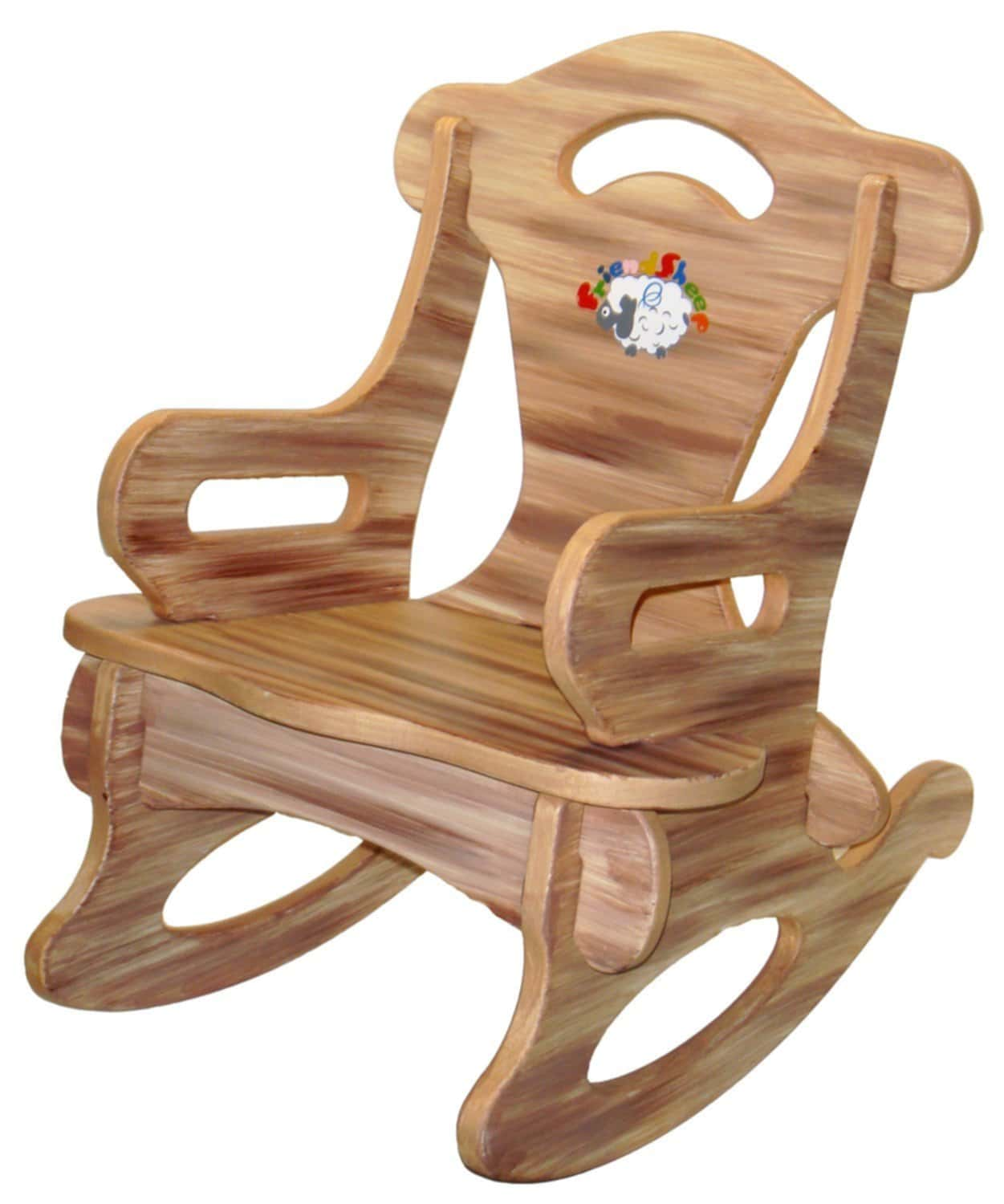 Wood Toddler Rocking Chair