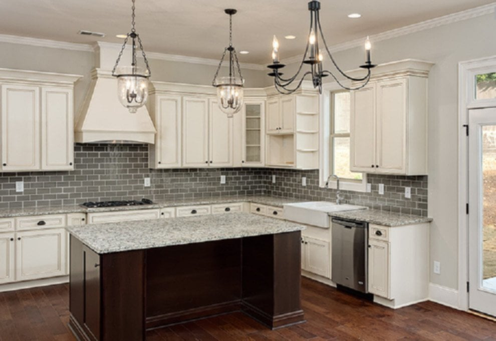 Antique White Kitchen Cabinets Kitchen Contemporary Antiqued Kitchen Cabinets White