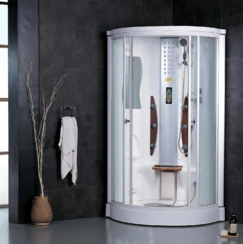 Bathroom Steam Shower Kit Ornamental Leaf Steam Shower Kit Shower Steam Shower Stalls For Small Bathrooms