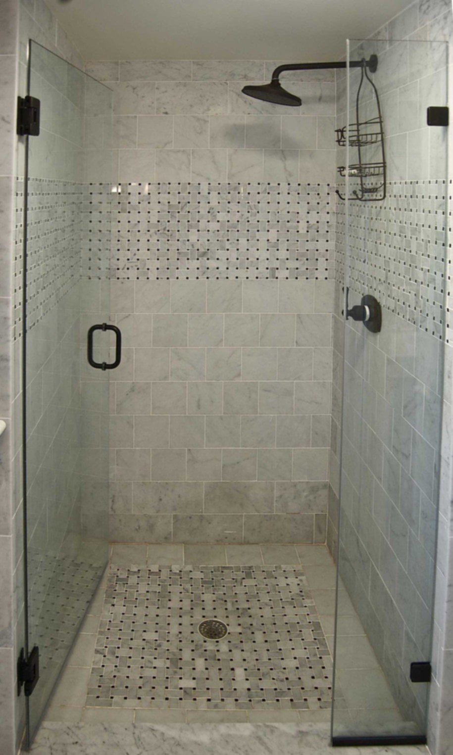 Black Shower Stalls For Small Bathrooms
