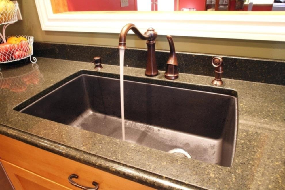 Composite Kitchen Sinks Kitchen Sink Stainless Undermount Furniture Color Granite Black Shower Stalls For Small Bathrooms