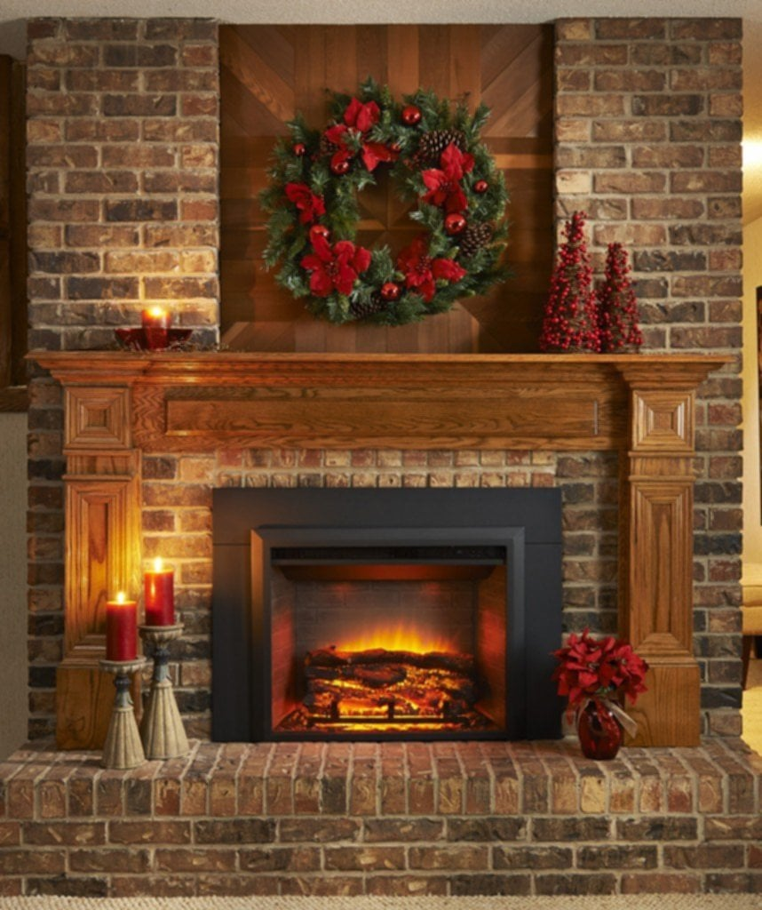 Decorate Electric Fireplace Insert