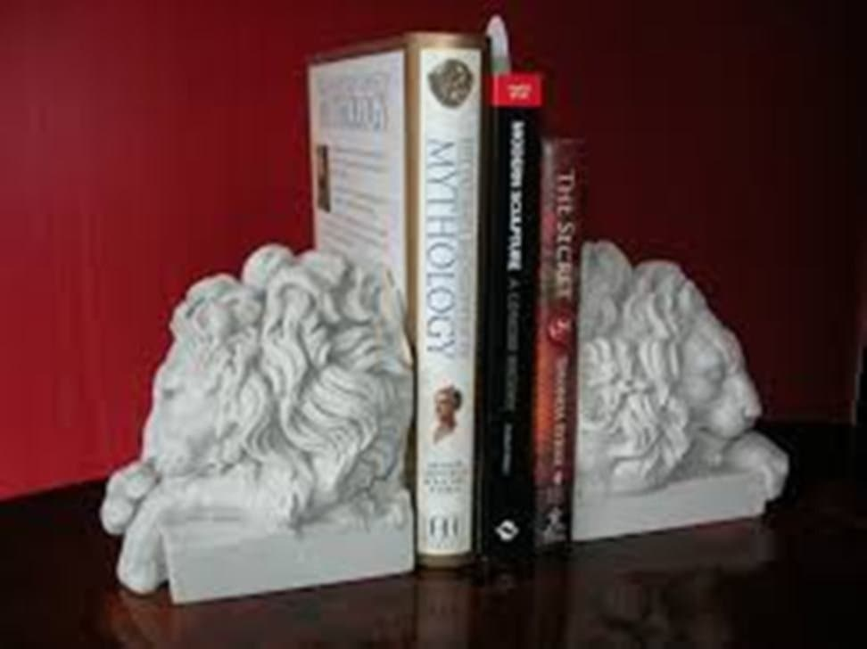 Lion Bookends Agency