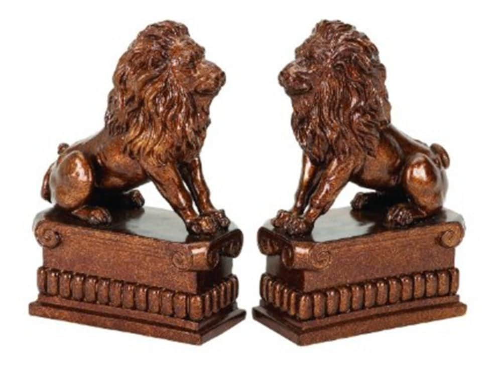 Lion Bookends Edward Kennedy