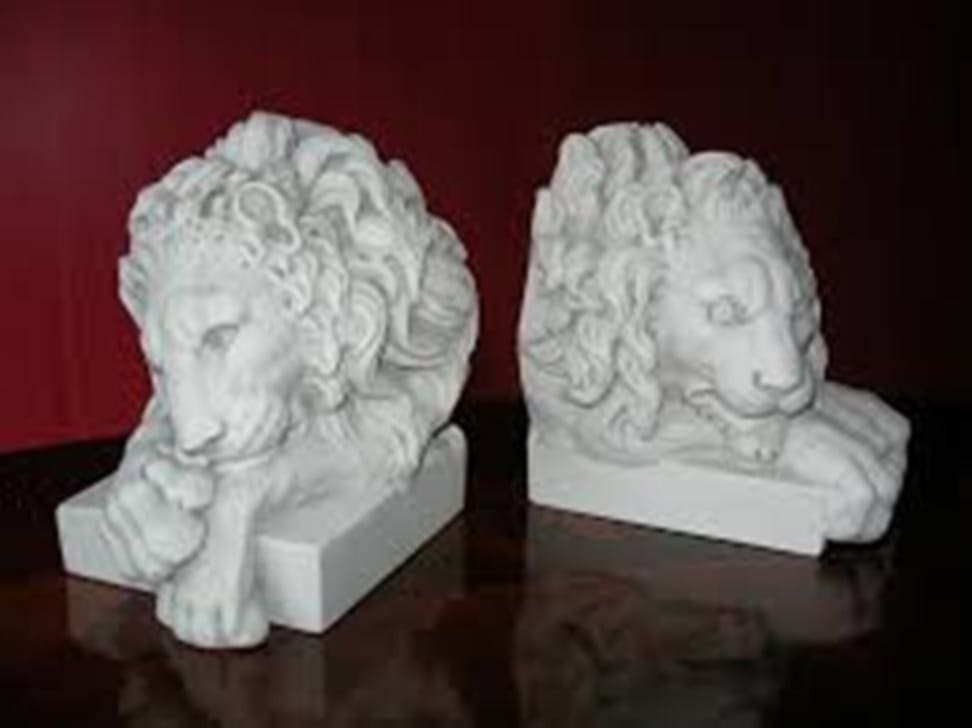 Lion Bookends For Nursery