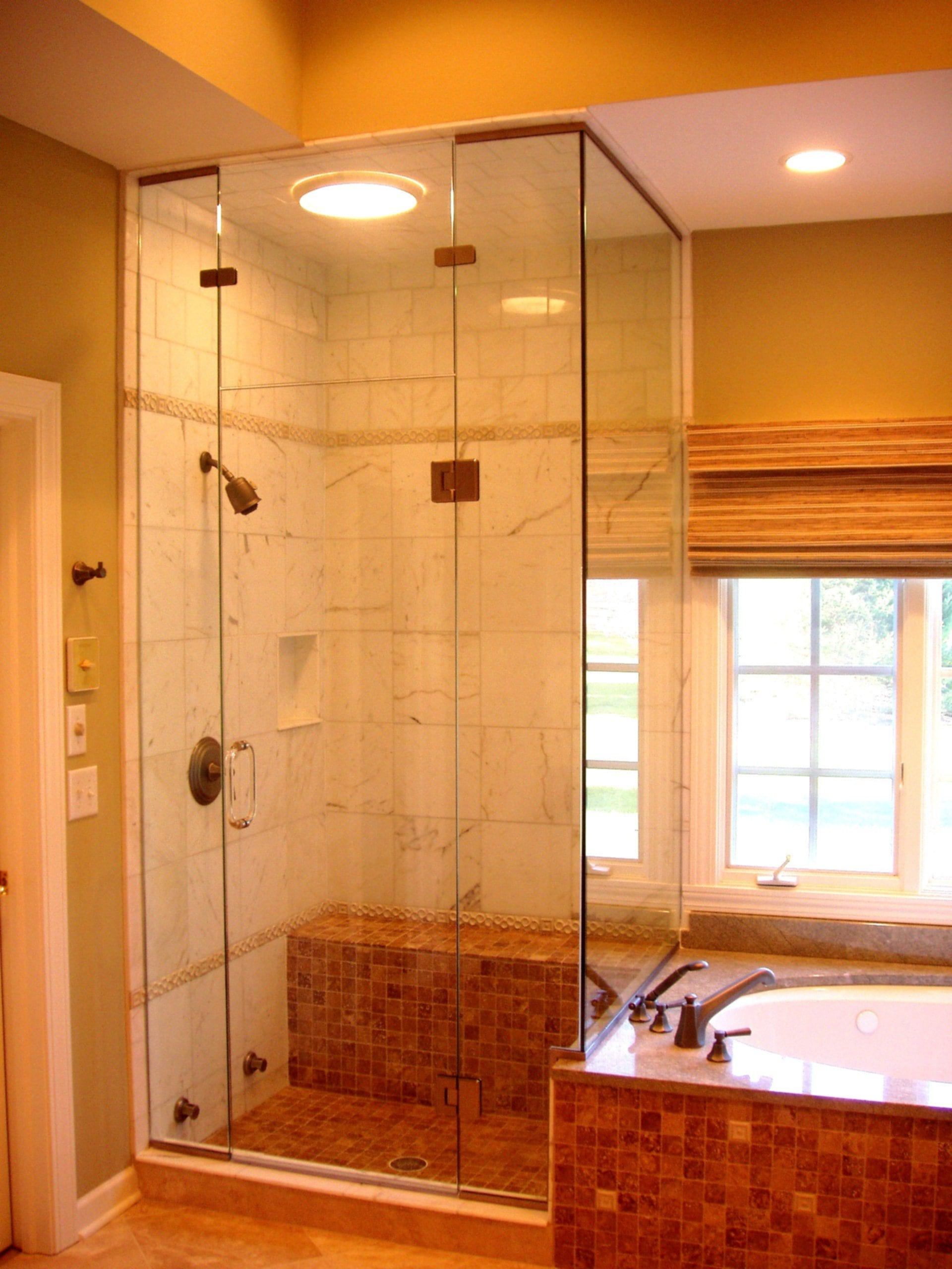 Shower Stalls In Small Bathrooms