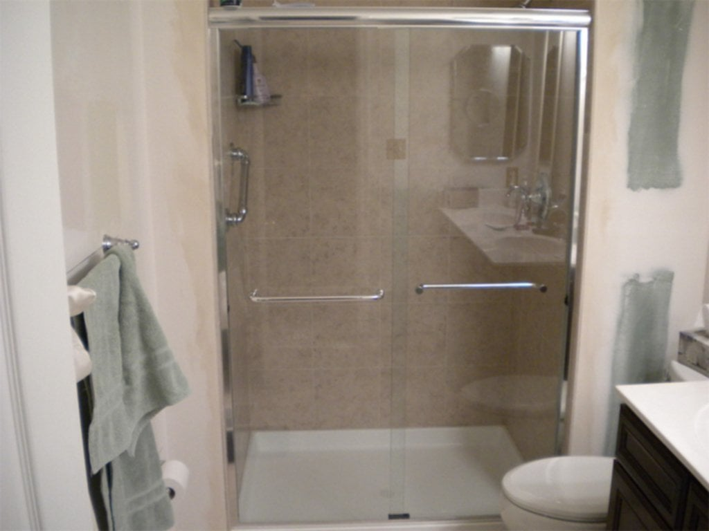 Small Shower Stall Kit Interior Exterior Homie Design Corner Shower Stall Kit Shower Stalls For Small Bathrooms