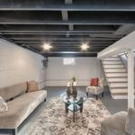 12 Finishing Touch Unfinished Basement Ceiling Dark Colors Ideas Design