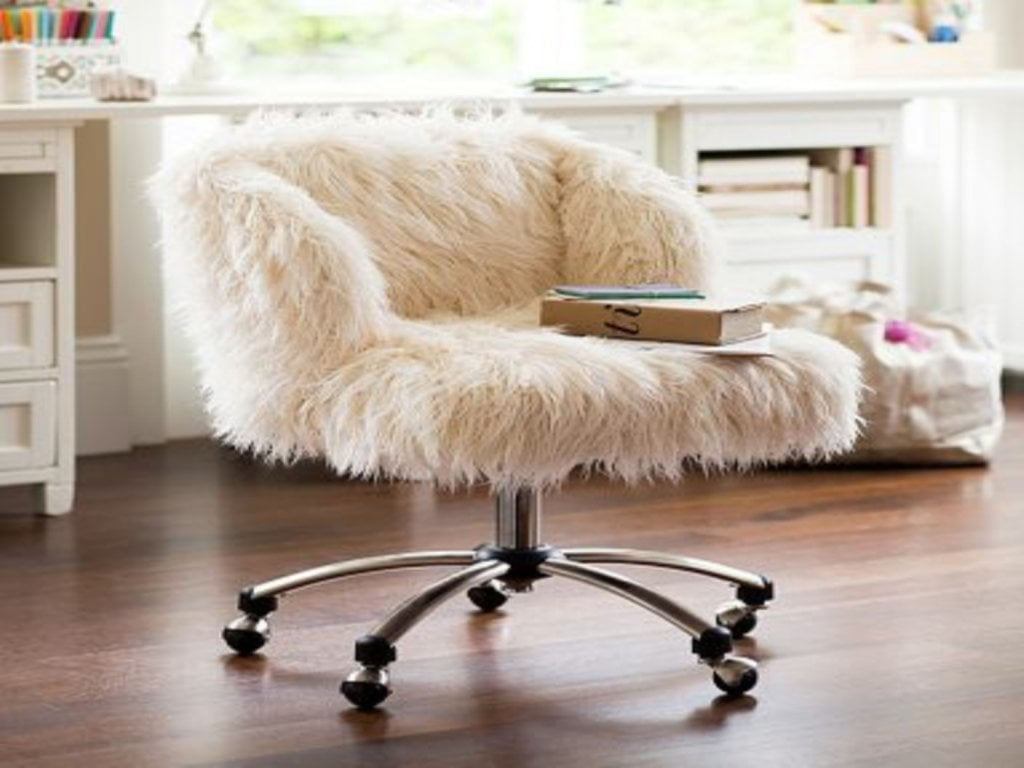 Affordable Computer Desk Pink Fuzzy Desk Chair Fuzzy Desk Ideal Bean Bag Chairs For Teens