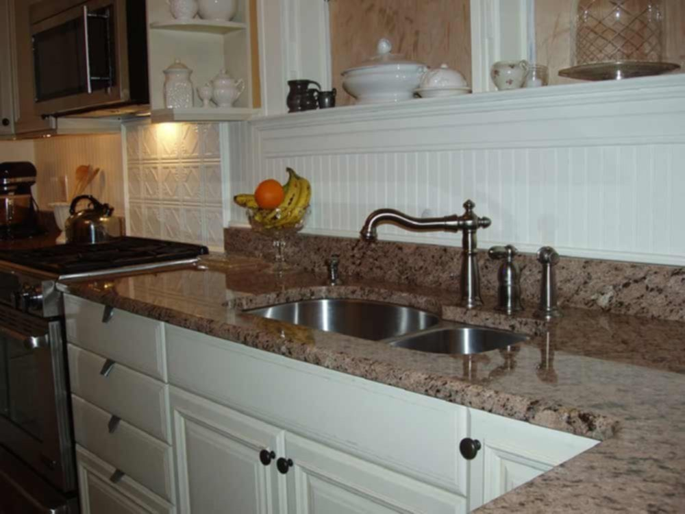 Bead Board Backsplash Idea Ideas For Backsplash Ideas With Dark Cabinets
