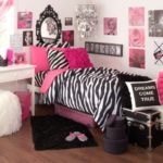 Bedroom Interior Zebra Deep Pink Theme