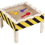 Construction Zone Sand Activity Table Sensoryedge Attractive Bean Bag Lounger