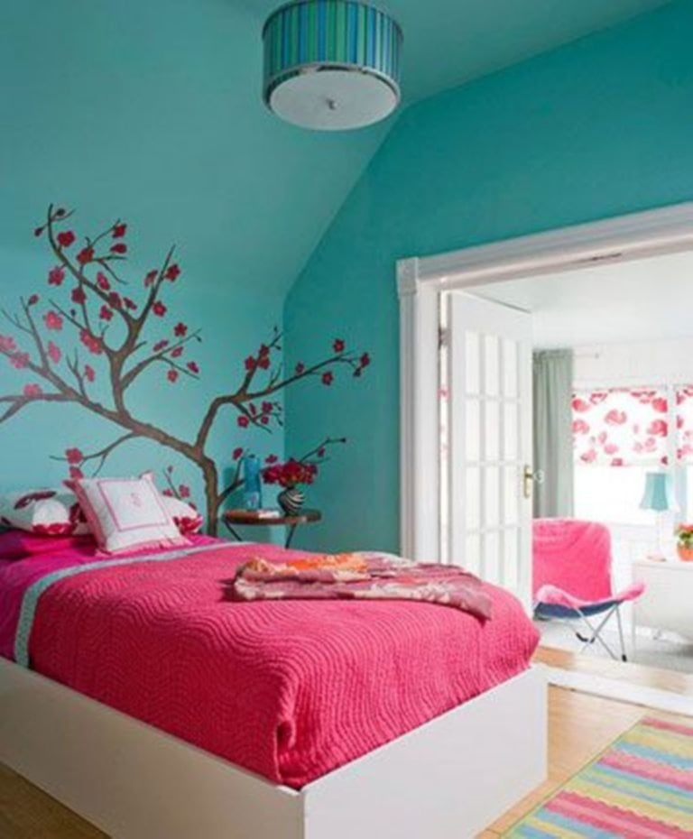 Image Aqua Blue Bedroom Ideas