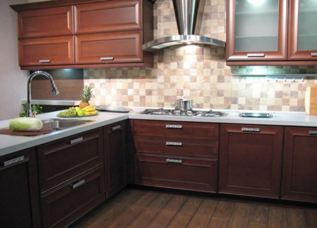 Ideas For Backsplash Ideas With Dark Cabinets