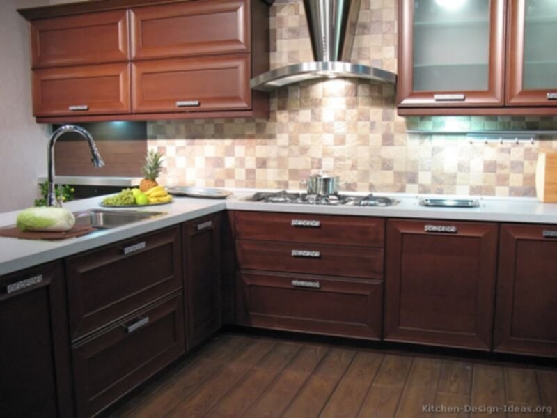 Kitchen Cabinet Idea Home Design Roosa Ideas For Backsplash Ideas With Dark Cabinets