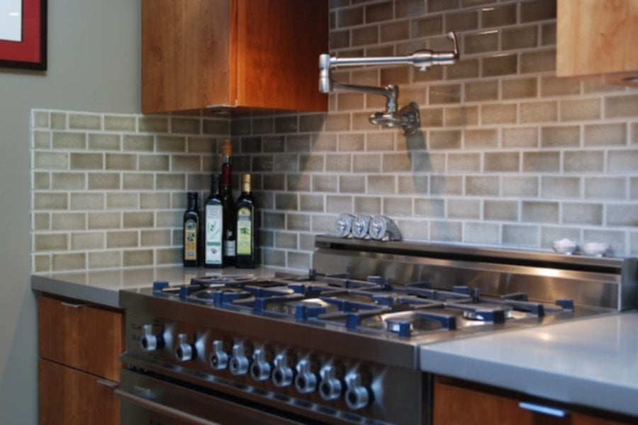 Modern Different Backsplash Kitchen