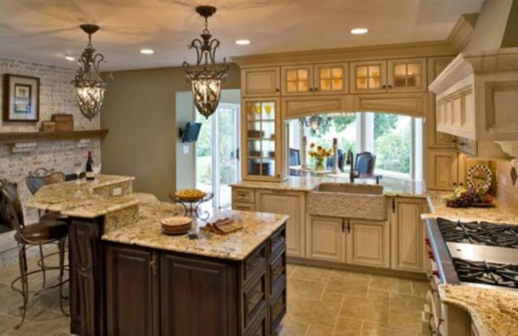 Most Beautiful Country Kitchens
