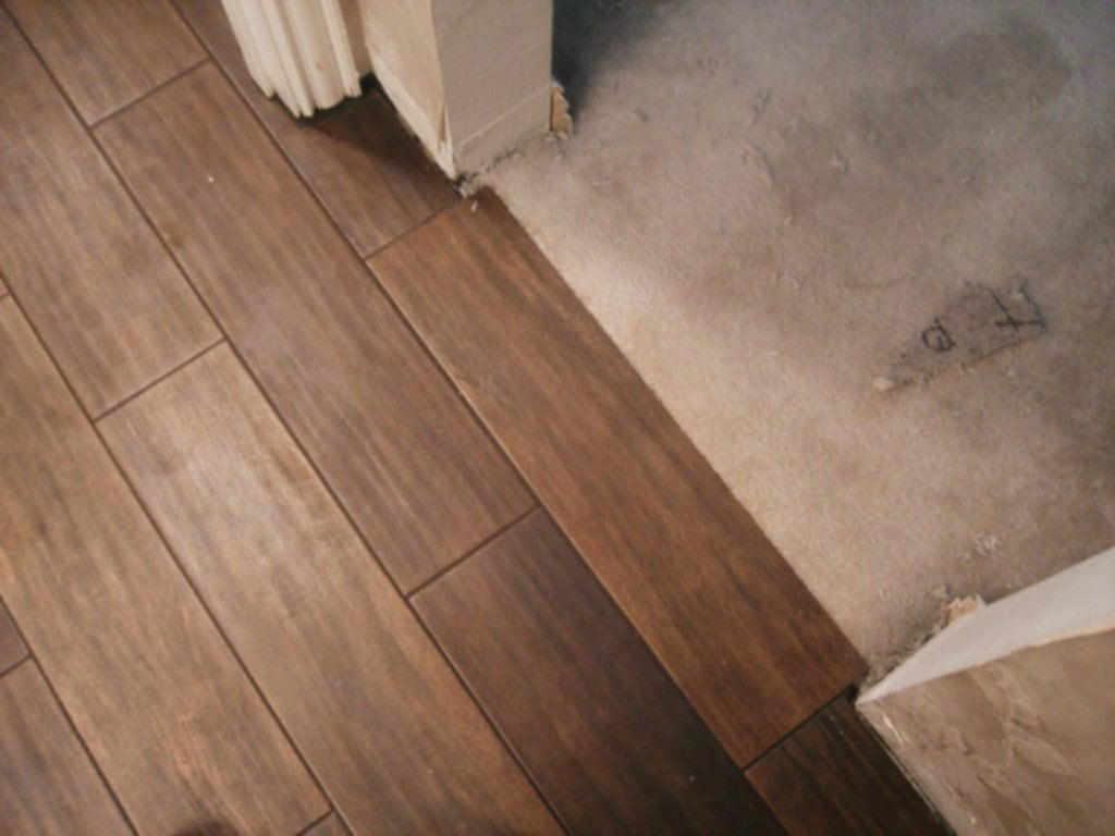 Serene Marazzi Summerville Porcelain Attaching Wood Trim The Wood Porcelain Tile