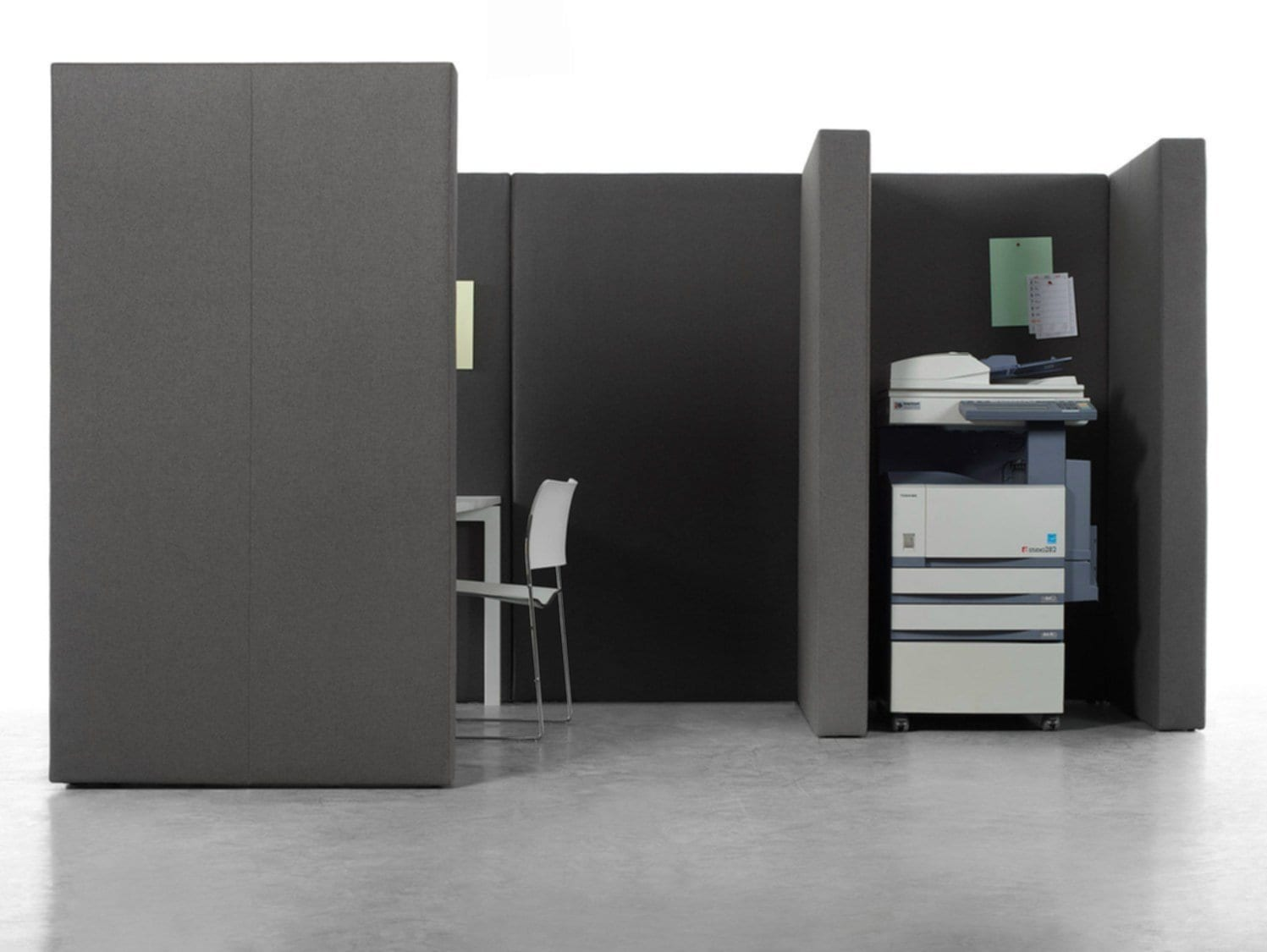 Simple Office Wall Partitions