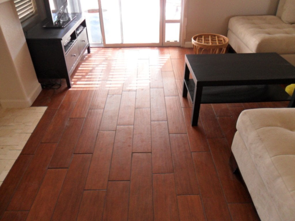 Simple Wood Porcelain Tile