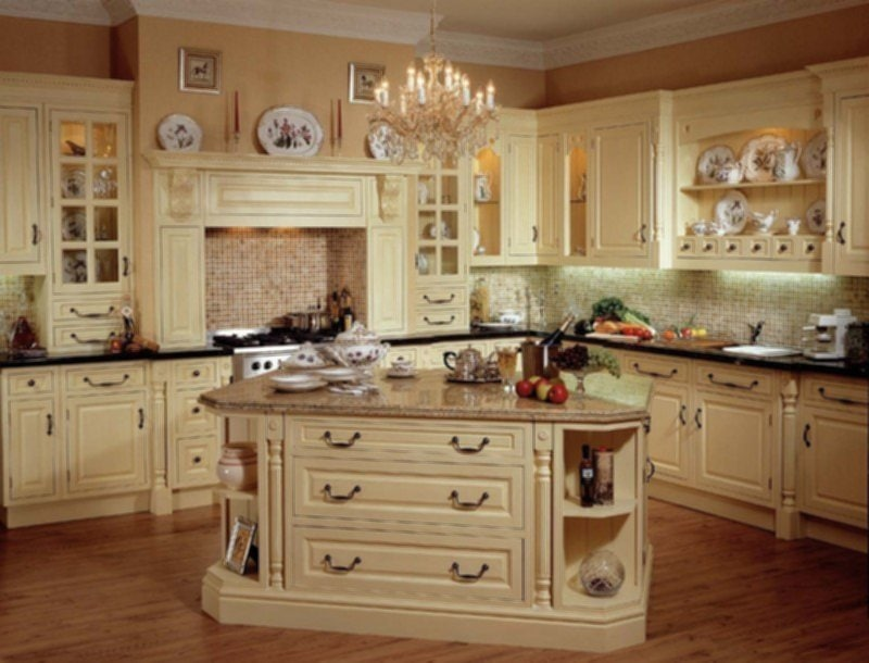 Tip Creating Unique Country Kitchen Idea Home Cabinet Review Decorate Beautiful Country Kitchens Victorian