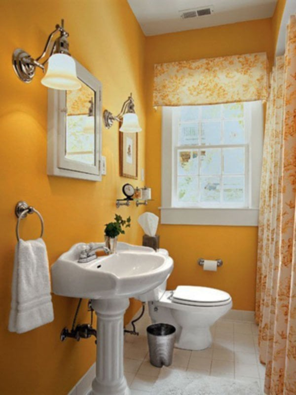 Wall Decorate A Small Bathroom