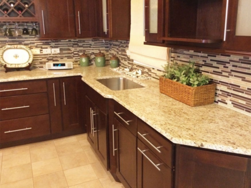 Wl Cm Stone Work Granite Countertop Chicago Ideas For Backsplash Ideas With Dark Cabinets