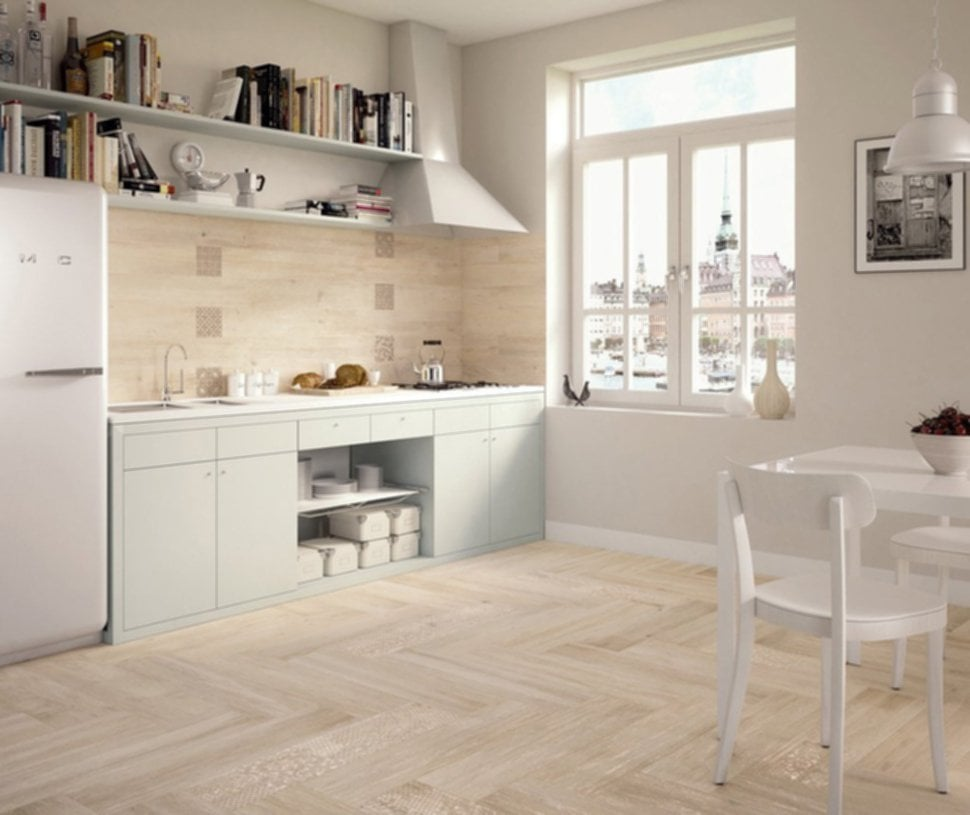 Wood Porcelain Tile Design