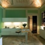 Green Kitchen Walls Ideas Picture