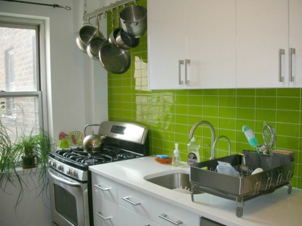 Lime Green Kitchen Walls