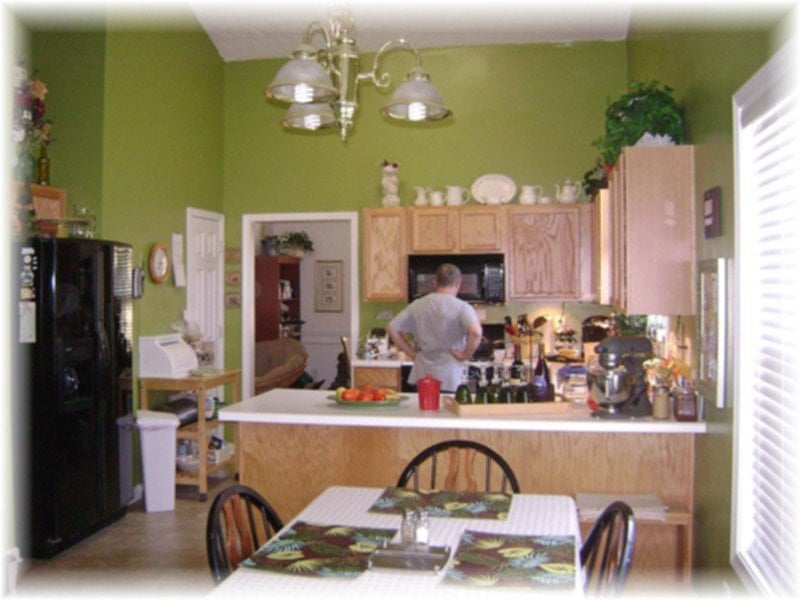 Sage Green Kitchen Walls